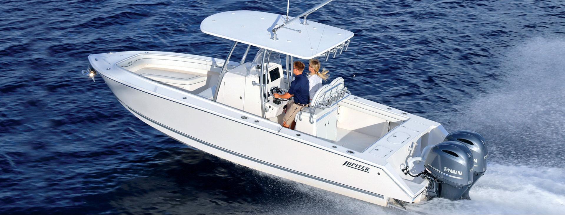 jupiter boat 26fs white